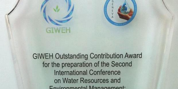 GIWEH int. conference Water Resources