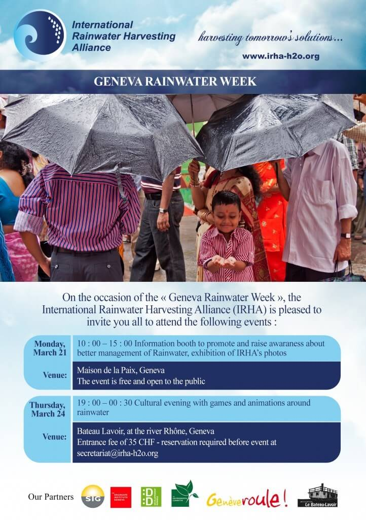 IRHA_Geneva Rainwater Week